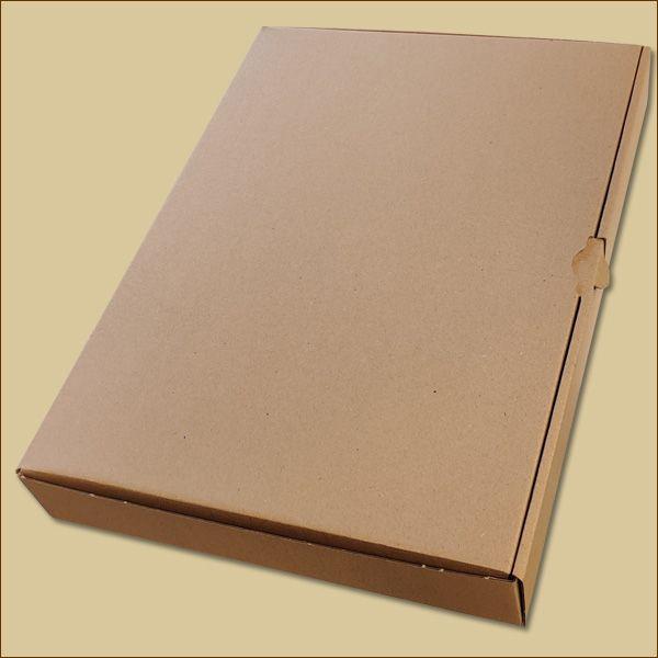 Faltschachtel 338 x 240 x 45 mm Versandschachtel einwellig Maxibrief