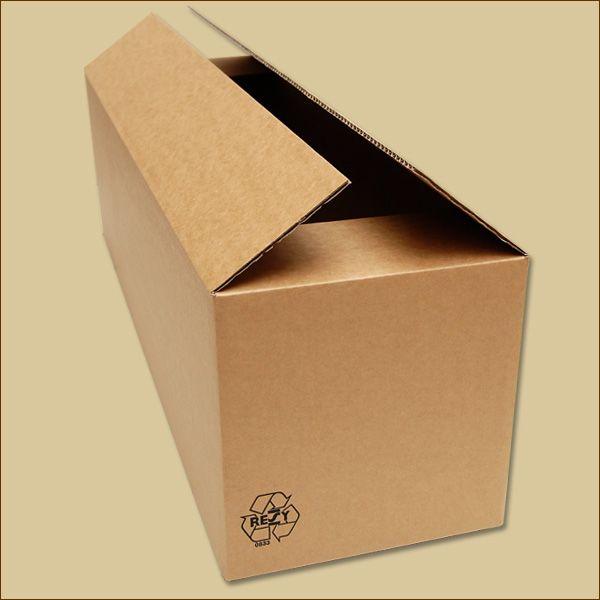 Faltkarton 850 x 250 x 250 mm Versandkarton einwellig