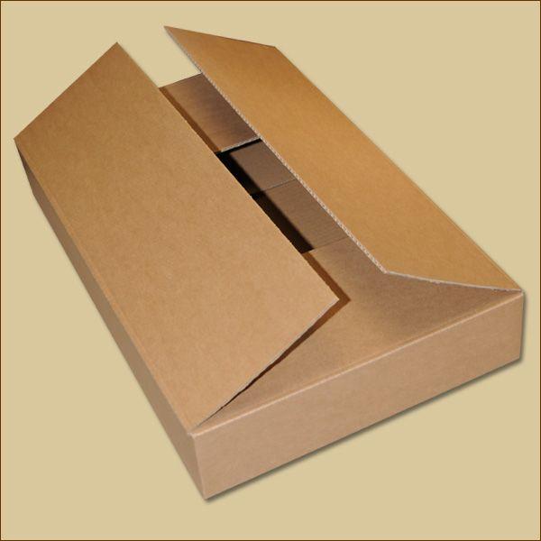 Faltkarton 520 x 320 x 75 mm Versandkarton einwellig