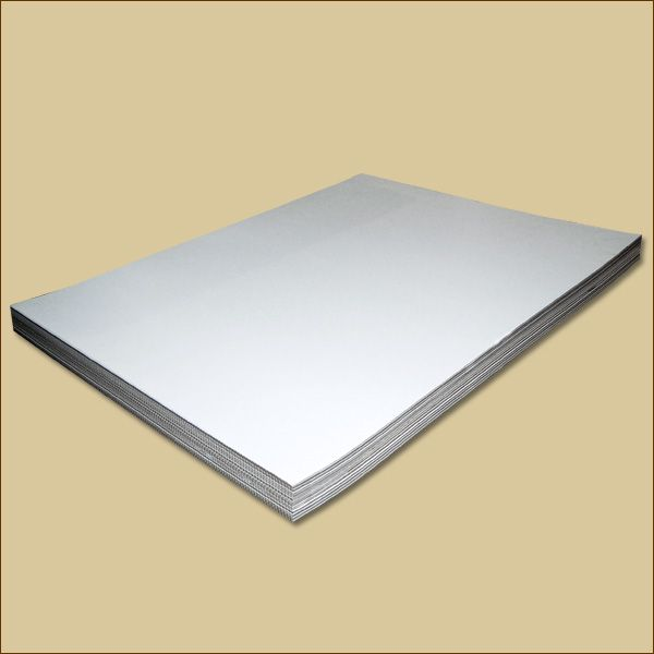 Wellpapp Zuschnitte 1240 x 800 mm B-Welle weiß Formate