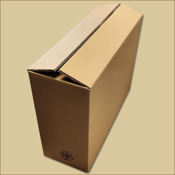 Faltkarton 480 x 170 x 370 mm Versandkarton zweiwellig