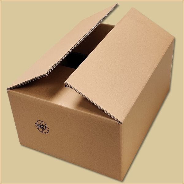 Faltkarton 380 x 280 x 170 mm Versandkarton zweiwellig