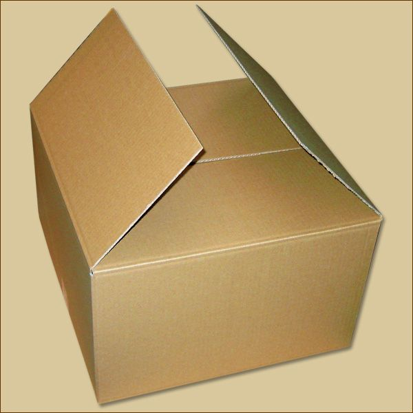 Faltkarton 400 x 400 x 240 mm Versandkarton einwellig