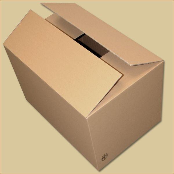 Faltkarton 590 x 390 x 380 mm Versandkarton zweiwellig