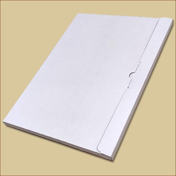 Faltschachtel 420 x 297 x 15 mm Kalender Versandschachtel einwellig