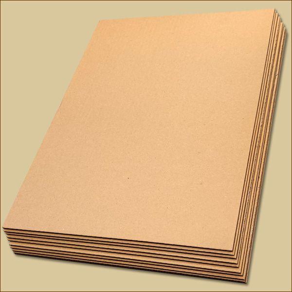Wellpapp Zuschnitte 420 x 297 mm DIN A3 Formate