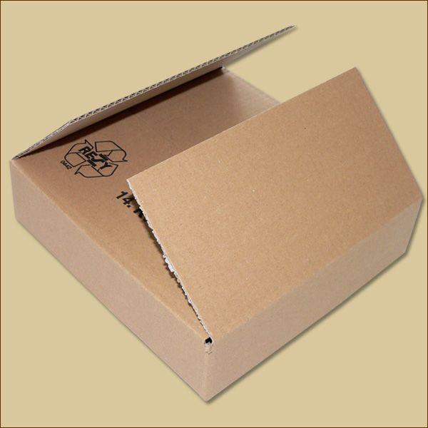 Faltkarton 240 x 240 x 60 mm Versandkarton einwellig