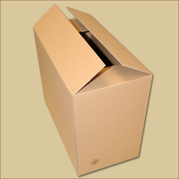 Faltkarton 415 x 221 x 350 mm Versandkarton einwellig