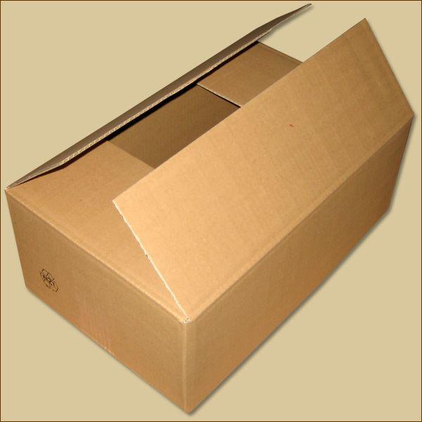 Faltkarton 400 x 250 x 150 mm Versandkarton einwellig