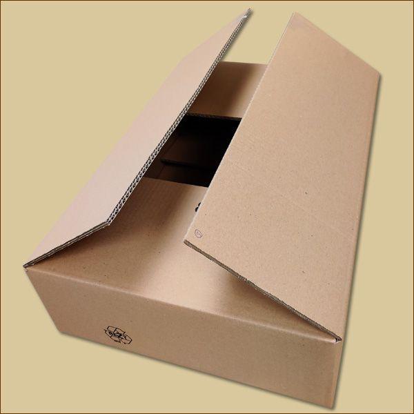 Faltkarton 535 x 365 x 135 mm Versandkarton zweiwellig