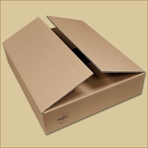 Faltkarton 600 x 500 x 120 mm Versandkarton zweiwellig