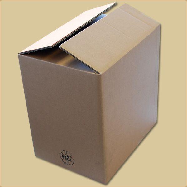 Faltkarton 379 x 279 x 385 mm Versandkarton zweiwellig B-Ware