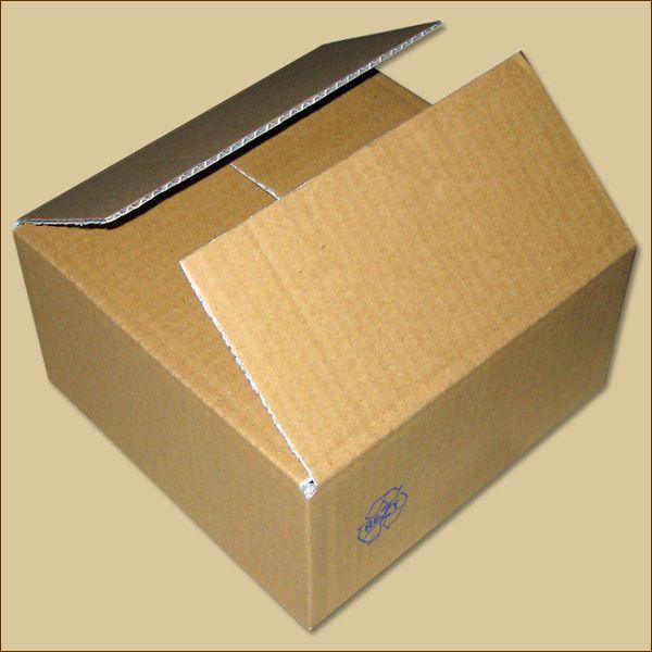 Faltkarton 190 x 190 x 100 mm Versandkarton einwellig