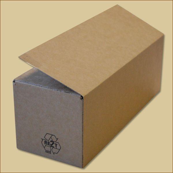 Faltkarton 315 x 115 x 115 mm Versandkarton einwellig