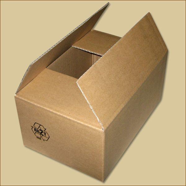 Faltkarton 260 x 170 x 120 mm Versandkarton einwellig