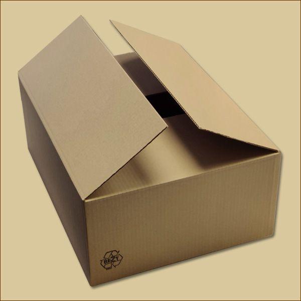 Faltkarton 450 x 350 x 180 mm Versandkarton einwellig