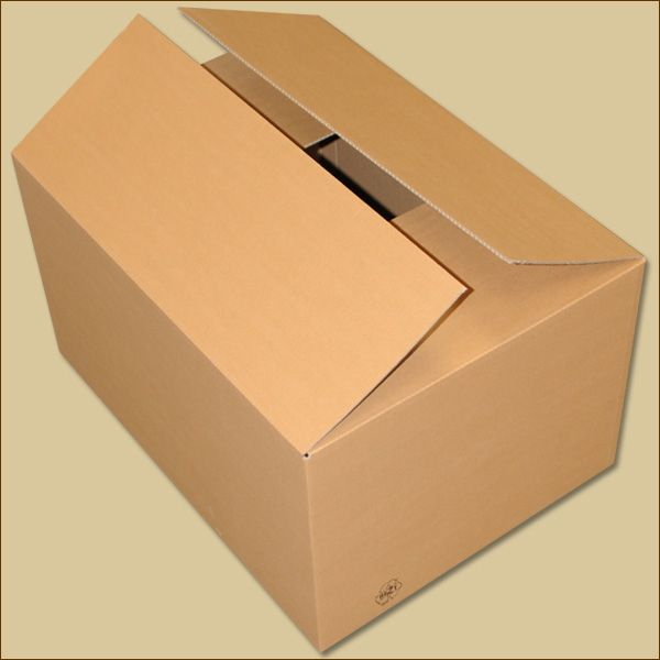 Faltkarton 635 x 465 x 345 mm Versandkarton einwellig