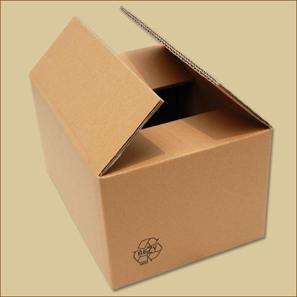 Faltkarton 300 x 215 x 160 mm Versandkarton zweiwellig