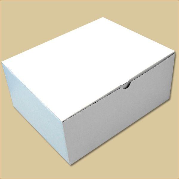Faltschachtel 330 x 260 x 145 mm Versandschachtel einwellig weiß