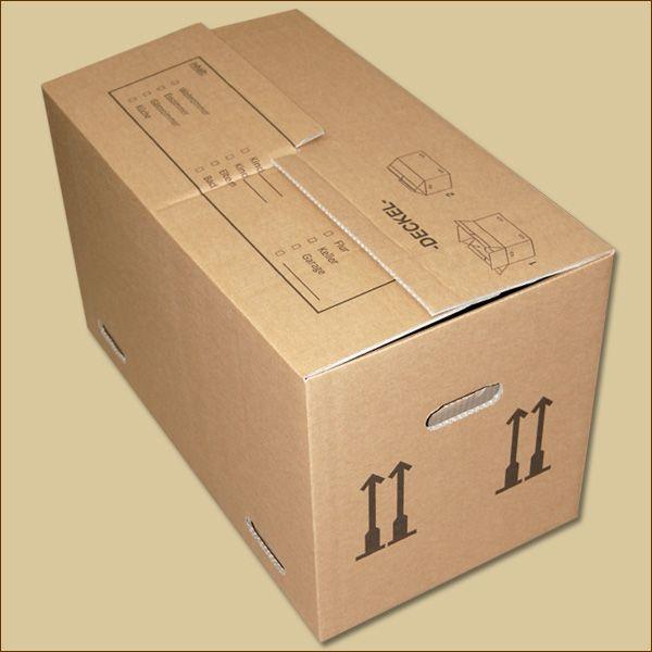 Umzugskarton 650 x 350 x 370 mm Umzugskiste zweiwellig