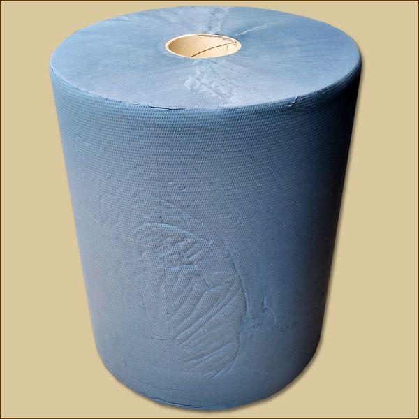 Putztuchrolle Quicky Industrierolle blau 3-lagig 1000 Blatt
