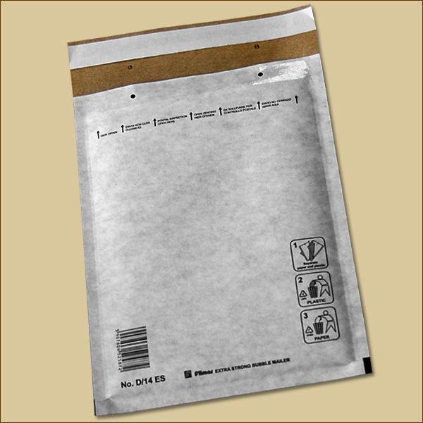 Luftpolstertaschen Gr. F/6 DIN A4 KRAFTLINER marmoriert Versandtaschen