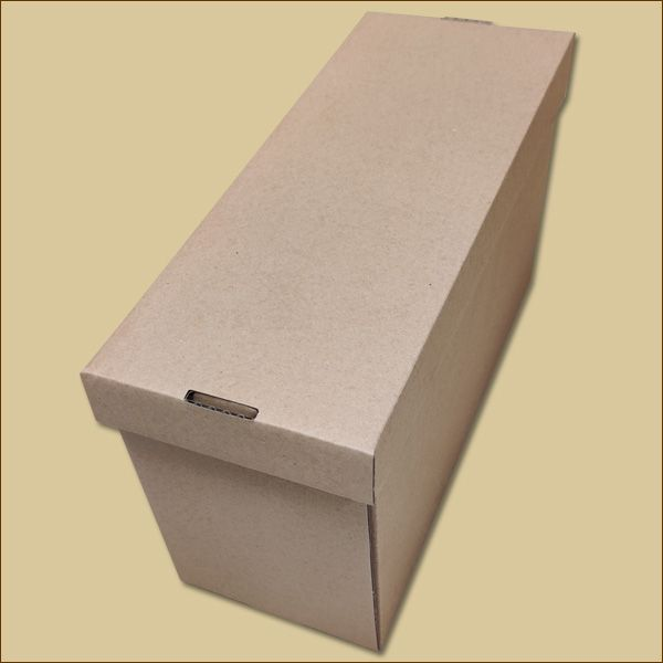 Faltschachtel 310 x 123 x 180 mm Versandschachtel Deckel + Boden