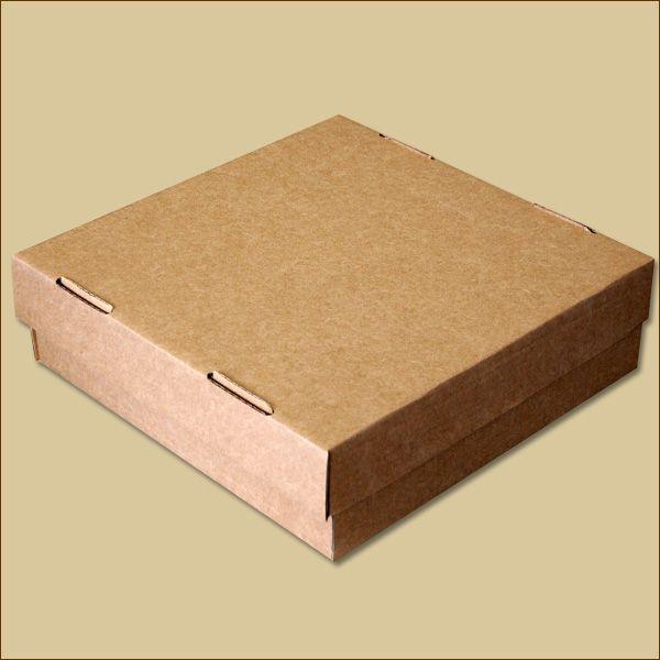 Faltschachtel 307 x 307 x 90 mm Versandschachtel Deckel + Boden