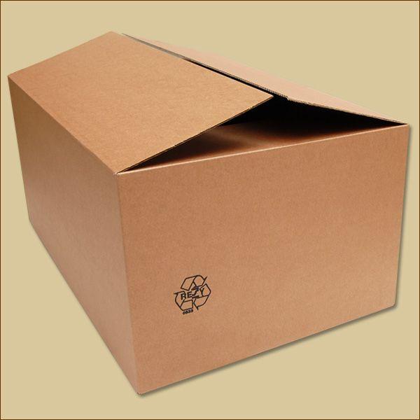 Faltkarton 750 x 500 x 350 mm Versandkarton einwellig