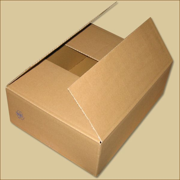Faltkarton 320 x 240 x 110 mm Versandkarton einwellig