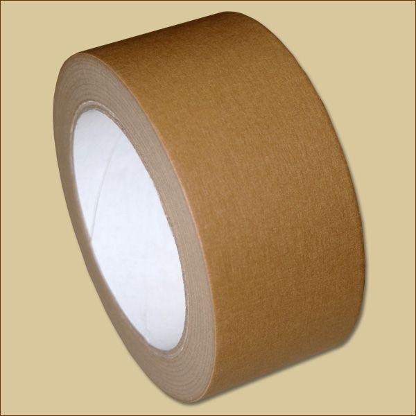 Papierklebeband 50 m - eco 110 µ braun Packband