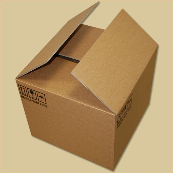 Faltkarton 510 x 510 x 420 mm Versandkarton zweiwellig B-Ware