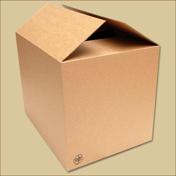 Faltkarton 500 x 380 x 400 mm Versandkarton einwellig