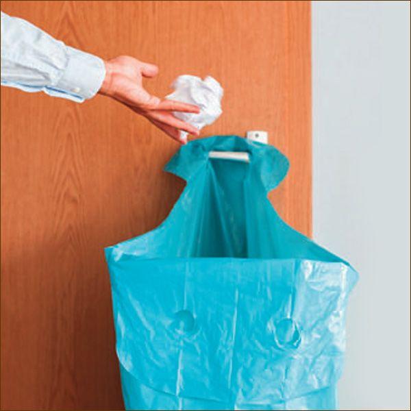 Knotenabfallsäcke BLAU 120 Liter Abfallsäcke 10 pro Rolle