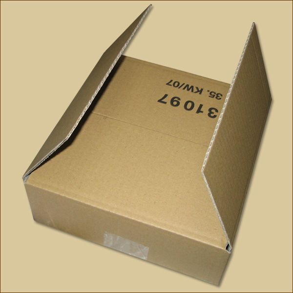 Faltkarton 200 x 200 x  80 mm Versandkarton einwellig
