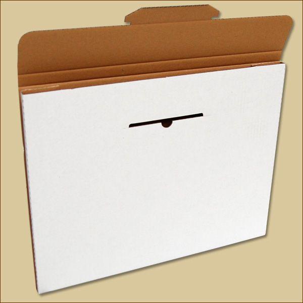 Faltschachtel 440 x 340 x 13 mm Versandschachtel einwellig Kalender
