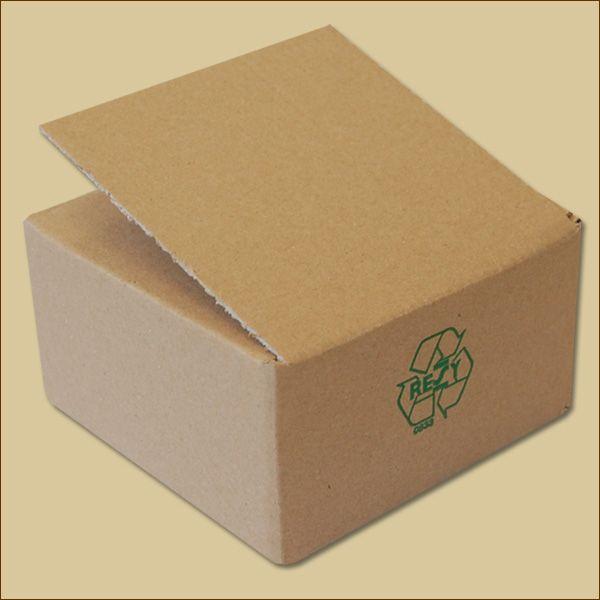 Faltkarton 115 x 115 x  60 mm Versandkarton einwellig