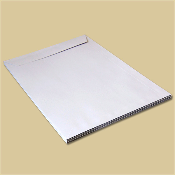 4000 Versandtaschen DIN C5 Haftklebung Briefumschläge braun