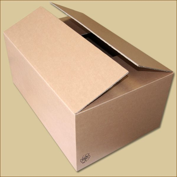 Faltkarton 576 x 381 x 254 mm Versandkarton zweiwellig
