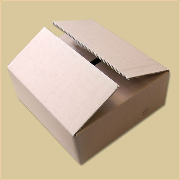 Faltkarton 332 x 312 x 118 mm Versandkarton zweiwellig