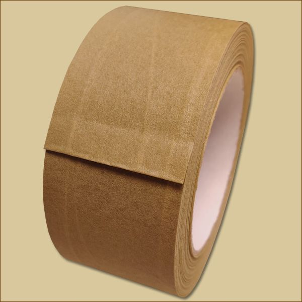 Papierklebeband 50 m - fadenverstärkt braun Packband