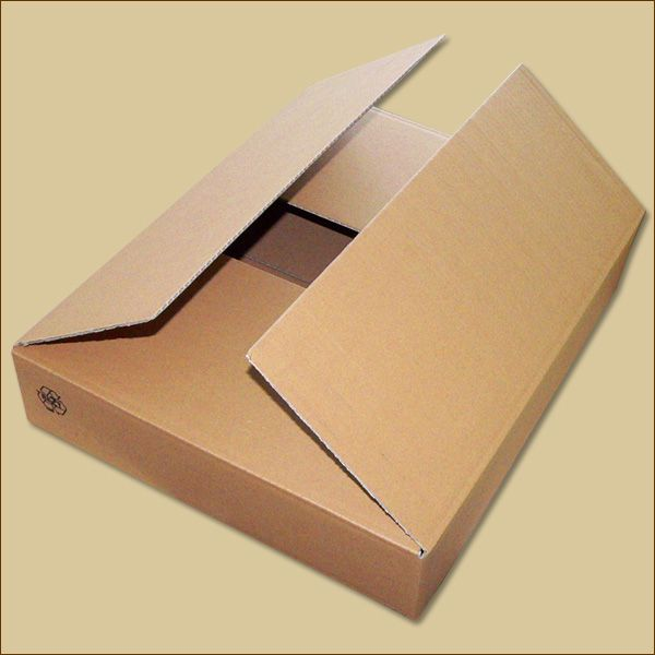 Faltkarton 450 x 360 x 80 mm Versandkarton einwellig