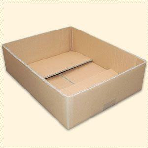 Regalkarton Archivkarton 392 x 292 x 100 mm zweiwellig B-WARE