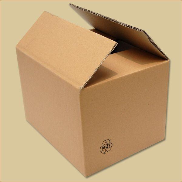 Faltkarton 312 x 235 x 205 mm Versandkarton zweiwellig