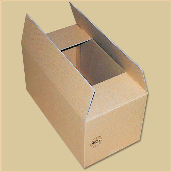 Faltkarton 575 x 300 x 300 mm Versandkarton einwellig