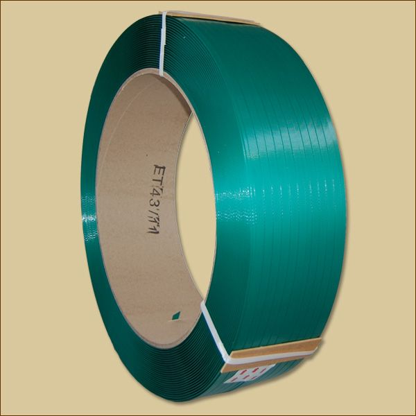 PET-Umreifungsband 2600 m auf 406 mm Kern, grün