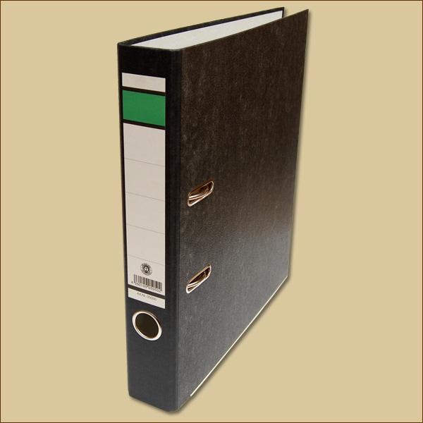 ordner 50 mm f r din a4 schwarz aktenordner b romaterial packen24 verpackungsmaterial. Black Bedroom Furniture Sets. Home Design Ideas