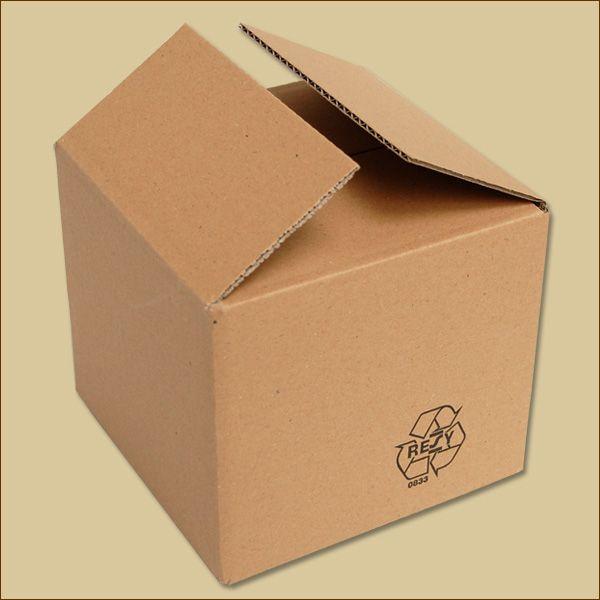 Faltkarton 160 x 160 x 140 mm Versandkarton einwellig