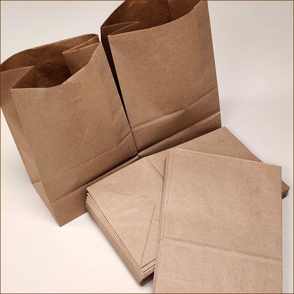Papiertüten 17,5 x 12 x 29 cm 70 µ Bodenbeutel