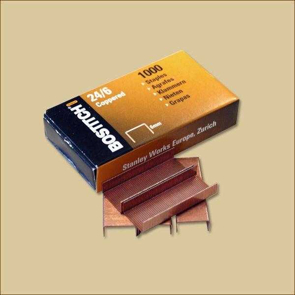 Schachteln Heftklammern 24/6 a 1000 Stück